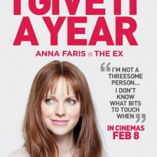 I Give It a Year: character poster per Anna Faris
