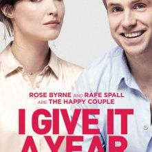 I Give It a Year: character poster per Rose Byrne e Rafe Spall