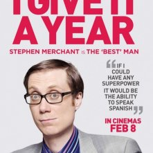 I Give It a Year: character poster per Stephen Merchant