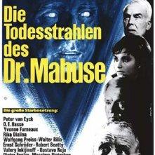I raggi mortali del Dr. Mabuse: la locandina del film