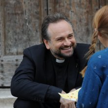 Il clan dei camorristi: Massimo Popolizio in una scena della fiction Mediaset