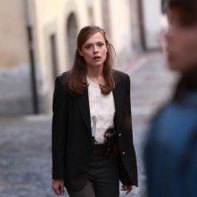 Il clan dei camorristi: Valeria Bilello in una scena della fiction Mediaset