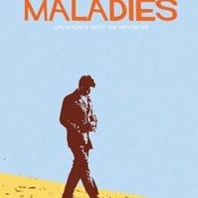 Maladies: locandina stilizzata del film