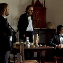 Mariage à Mendoza: Philippe Rebbot con Nicolas Duvauchelle in un momento del film