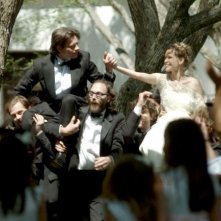 Mariage à Mendoza: Philippe Rebbot e Nicolas Duvauchelle in un momento di festa