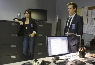 The Following: Kevin Bacon e Annie Parisse nell'episodio Chapter Two
