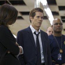 The Following: Kevin Bacon in una scena del pilot della serie