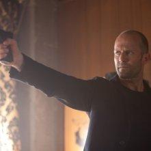 Jason Statham in una scena di 'Parker'