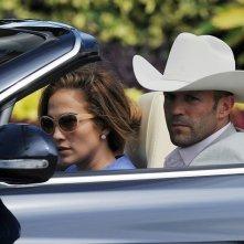 Jennifer Lopez in 'Parker' con Jason Statham