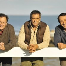 Amitiés sincères: Gérard Lanvin, Jean-Hugues Anglade con Wladimir Yordanoff