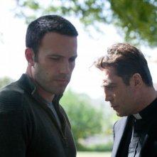 To the wonder: Ben Affleck e Javier Bardem in un drammatico momento