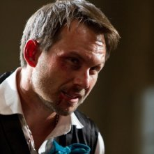 Bullet to the Head: Christian Slater in una scena