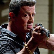 Bullet to the Head: Sylvester Stallone in una scena d'azione