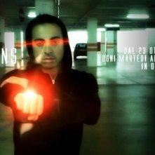 Emanuele Manes in una immagine promo di Columns