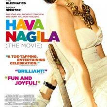 Hava Nagila: The Movie: la locandina del film
