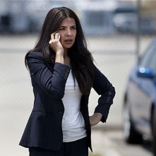 Homeland: Zuleikha Robinson in una scena dell'episodio State of Independence