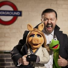 The Muppets... Again!: Ricky Gervais insieme a Kermit e Miss Piggy