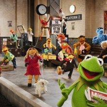 The Muppets... Again!: una pelosa foto di gruppo del cast