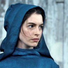 Anne Hathaway in una scena di Les Misérables nel quale interpreta Fantine