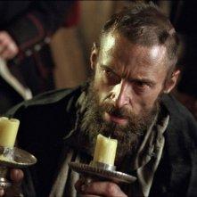 Les Misérables: Hugh Jackman in una scena della pellicola