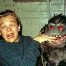 Leonardo DiCaprio scherza sul set di Critters 3, nel 1991