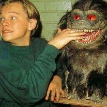 Leonardo DiCaprio sul set di Critters 3, nel 1991