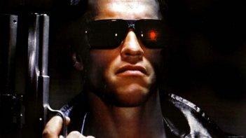 Terminator: un primissimo piano di Arnold Schwarzenegger