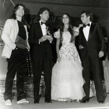 Sanremo 1982 - Albano e Romina con Riccardo Fogli e Drupi