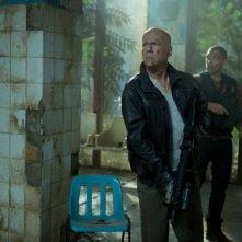 Bruce Willis e Jai Courtney sono padre e figlio in Die Hard: Un buon giorno per morire