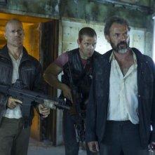 Bruce Willis, Jai Courtney e Sebastian Koch in Die Hard - Un buon giorno per morire