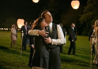 I Give It a Year: Rose Byrne e Rafe Spall in una scena