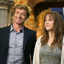 I Give It a Year: Simon Baker e Anna Faris in una scena della commedia