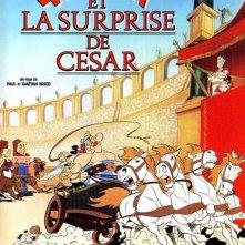 Asterix e la sorpresa di Cesare: la locandina del film