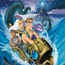 Atlantis, il ritorno di Milo: la locandina del film