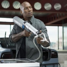 Fast & Furious 6: Tyrese Gibson in una scena