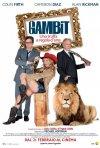 Gambit: la locandina italiana del film