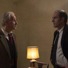 Viva la libertà: il protagonista Toni Servillo in una scena del film con Valerio Mastandrea
