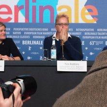 Berlinale 2013: Tim Robbins durante la conferenza stampa della giuria