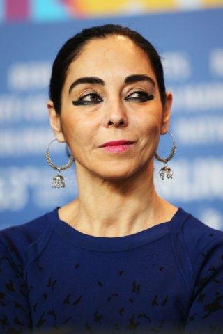 Berlinale 2013: una fascinosa Shirin Neshat durante la conferenza stampa della giuria