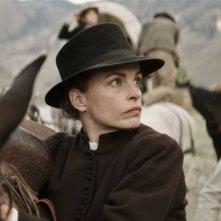 Gold: Nina Hoss in una scena del film western diretto da Thomas Arslan