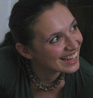 Materia Oscura: uno dei due registi, Martina Parenti, in una foto promozionale