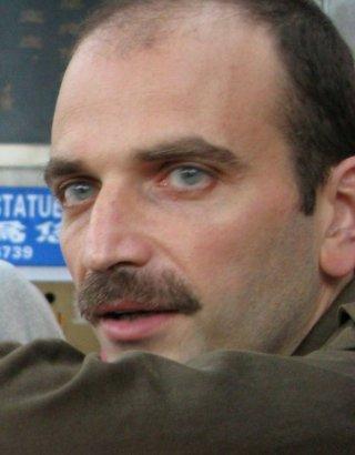 Materia Oscura: uno dei due registi, Massimo D'Anolfi, in una foto promozionale
