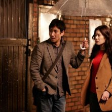 Nobody's Daughter Haewon: Eunchae Jung con Sunkyun Lee in una scena del film