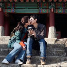 Nobody's Daughter Haewon: Eunchae Jung e Sunkyun Lee in una tenera scena del film