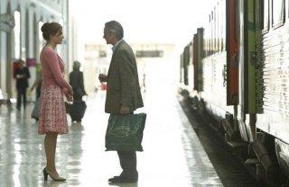 Treno di notte per Lisbona: Martina Gedeck e Jeremy Irons in una scena del film