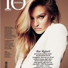 Bar Refaeli sulla copertina di Io Donna - febbraio 2013