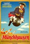 Il barone di Münchhausen: la locandina del film