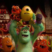 Monsters University: Mike e Sulley in una scena del film