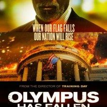 Olympus Has Fallen: Character Poster per Morgan Freeman