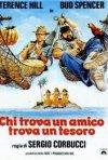 Chi trova un amico trova un tesoro: Locandina italiana